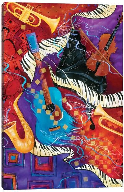 Supper Club Music Canvas Art Print