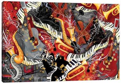 Music Jam Canvas Art Print