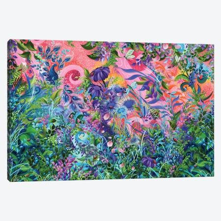 Garden Fantasy Canvas Print #JLZ36} by Juleez Canvas Art