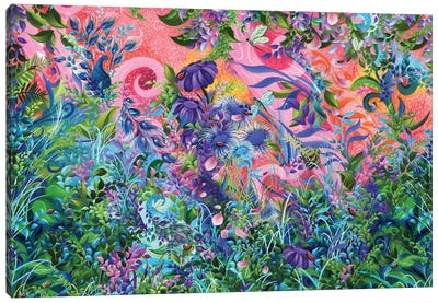 Garden Fantasy Canvas Art Print