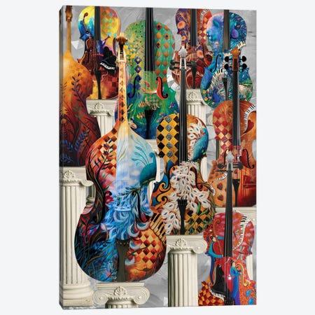 Musical Instruments Cello Canvas Print #JLZ38} by Juleez Art Print
