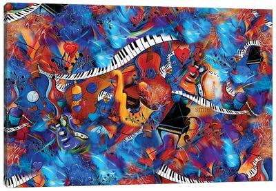 Music Magic Canvas Art Print