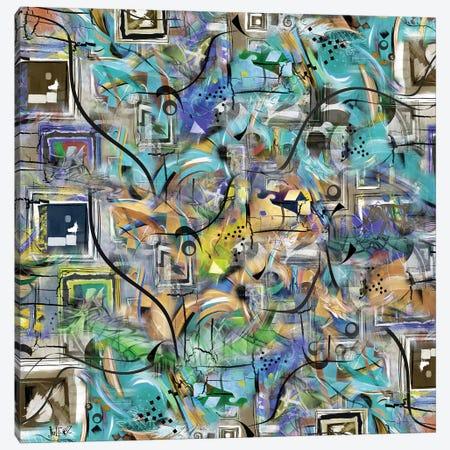 Chaos II Canvas Print #JLZ7} by Juleez Canvas Print