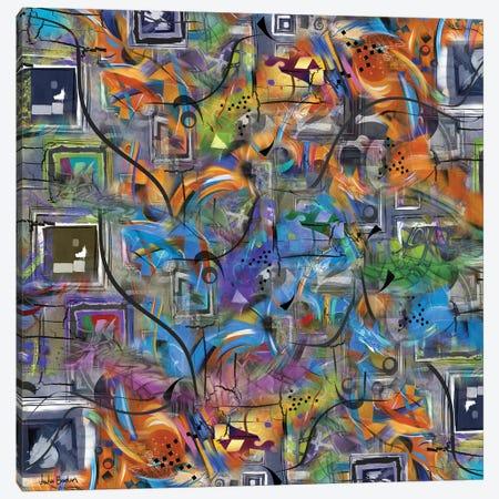 Chaos Canvas Print #JLZ8} by Juleez Canvas Art