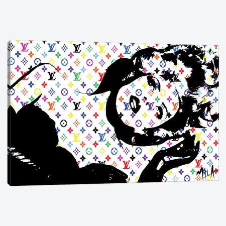 LV Canvas Print #JMB14} by Julie Mila-Bouffard Canvas Print