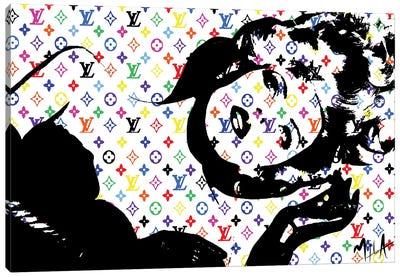 LV Canvas Art Print