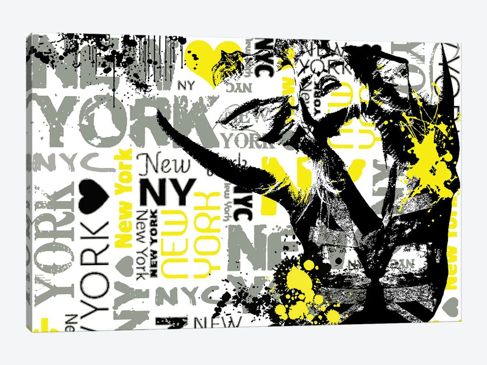 NYC by Julie-Mila Bouffard 1-piece Art Print