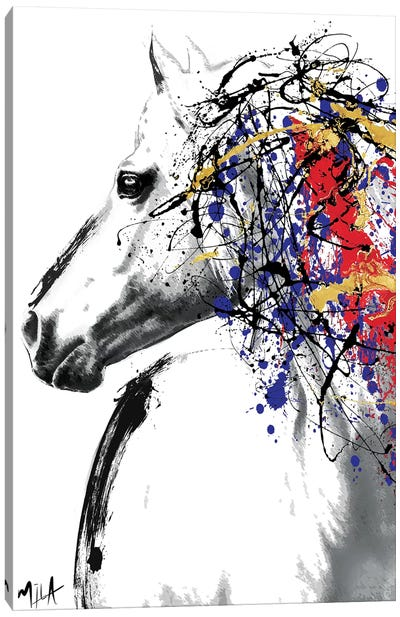 Trojan Horse Canvas Art Print