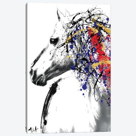 Trojan Horse Canvas Print #JMB18} by Julie Mila-Bouffard Canvas Wall Art