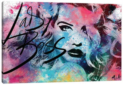Lady Boss Canvas Art Print