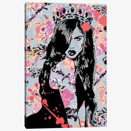 The Queen Canvas Print #JMB27} by Julie Mila-Bouffard Canvas Artwork