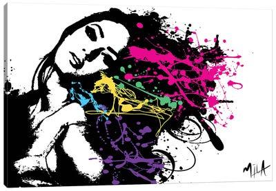 Funky Hair Canvas Art Print