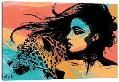 Spirit Animal Canvas Art Print
