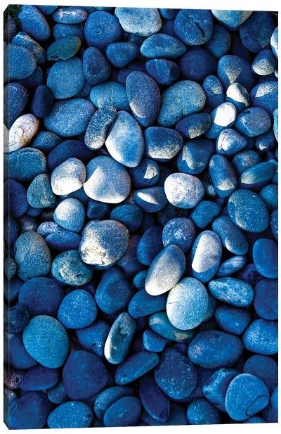 Santa Fe, New Mexico, USA of shaded rocks. Canvas Art Print