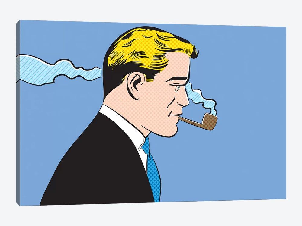 Man Smoking A Pipe by Joseph McDermott 1-piece Art Print