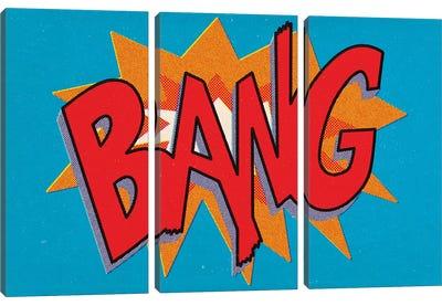 Bang Canvas Art Print