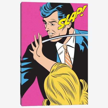 Slap! Canvas Print #JMD31} by Joseph McDermott Canvas Art