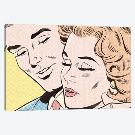 Couple Canvas Print #JMD3} by Joseph McDermott Canvas Wall Art