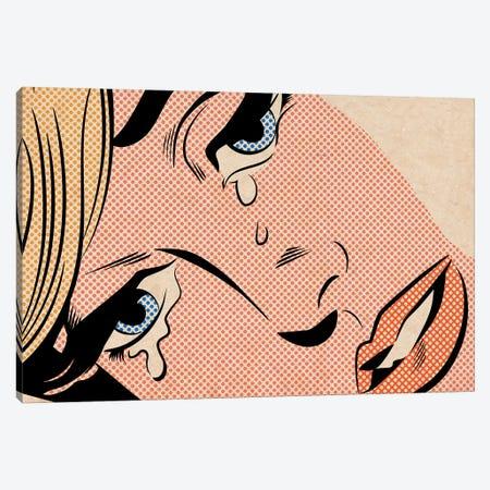 Crying Woman III Canvas Print #JMD5} by Joseph McDermott Canvas Art Print