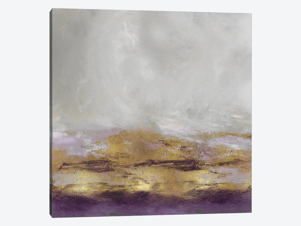 Terra In Amethyst 1-piece Canvas Wall Art