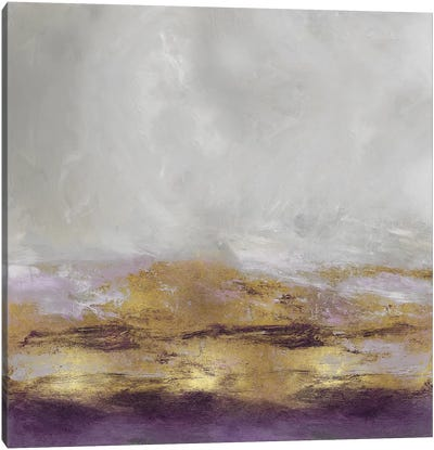 Terra In Amethyst Canvas Art Print