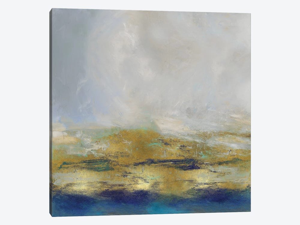 Terra In Aqua by Jake Messina 1-piece Canvas Print