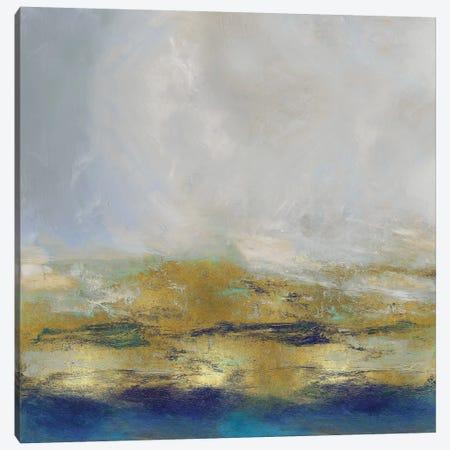 Terra In Aqua 3-Piece Canvas #JME12} by Jake Messina Art Print