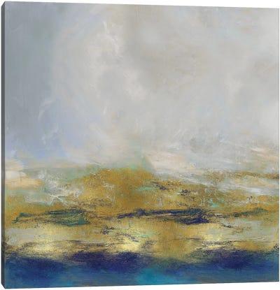 Terra In Aqua Canvas Art Print