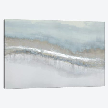 Aqua Blend Canvas Print #JME16} by Jake Messina Canvas Wall Art