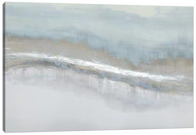 Aqua Blend Canvas Art Print