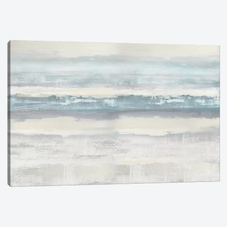 Aqua Movement Canvas Print #JME17} by Jake Messina Canvas Art