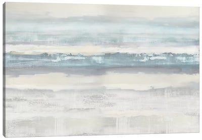 Aqua Movement Canvas Art Print