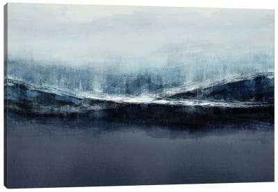 Ascending Blue Canvas Art Print