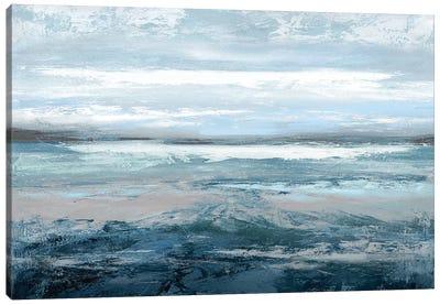 Aqua In Motion Canvas Art Print