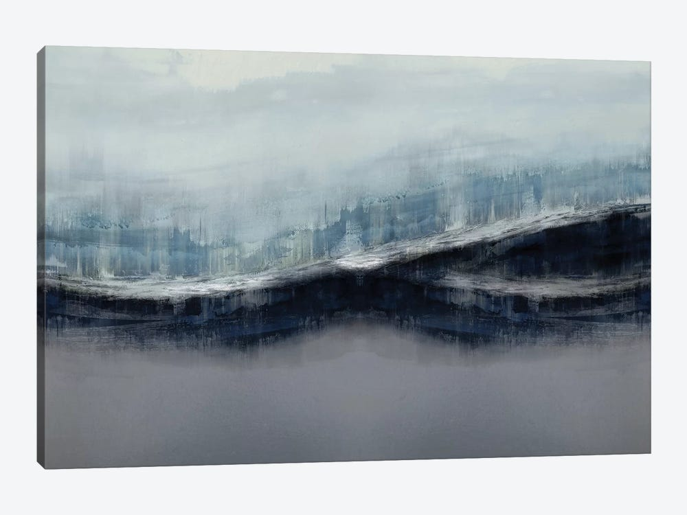 Ascending Gray by Jake Messina 1-piece Canvas Art
