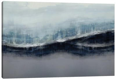Ascending Gray Canvas Art Print