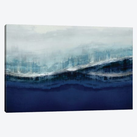Ascending Indigo Canvas Print #JME21} by Jake Messina Canvas Wall Art