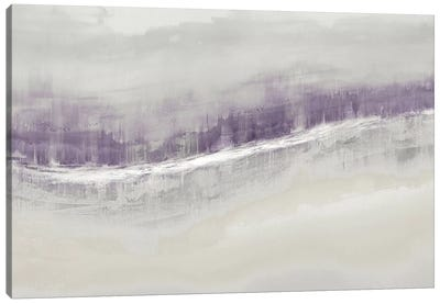 Flowing Amethyst Canvas Art Print