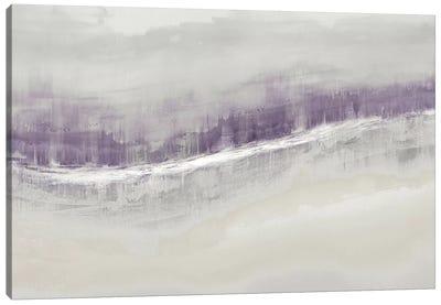 Flowing Amethyst Canvas Art Print