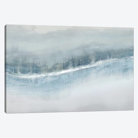Flowing Aqua Canvas Print #JME23} by Jake Messina Canvas Art