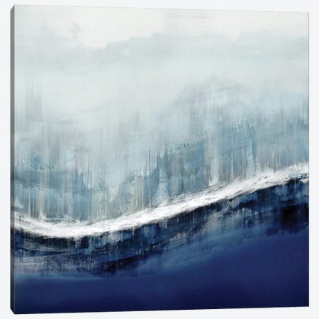 Flowing Blue Canvas Print #JME24} by Jake Messina Canvas Art Print
