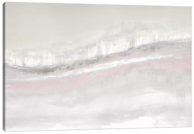 Flowing Blush Canvas Art Print
