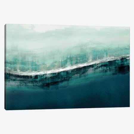 Flowing Cerulian Canvas Print #JME26} by Jake Messina Canvas Art Print