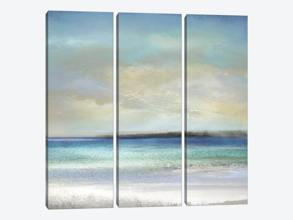At The Shore by Jake Messina 3-piece Canvas Art