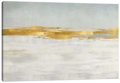 Gold Horizon I Canvas Art Print