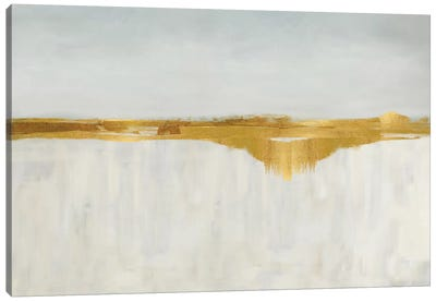 Gold Horizon II Canvas Art Print