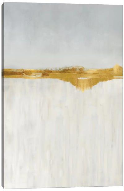 Linear Gold I Canvas Art Print