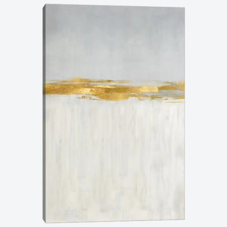 Linear Gold II Canvas Print #JME37} by Jake Messina Canvas Artwork