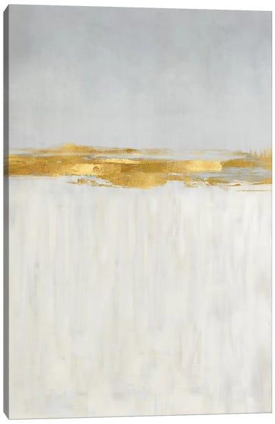 Linear Gold II Canvas Art Print