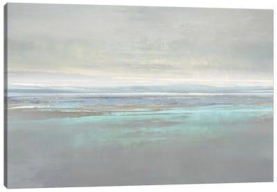 Aqua Reflection Canvas Art Print